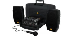 Behringer PPA200 200 Watt 5-Channel Compact PA System