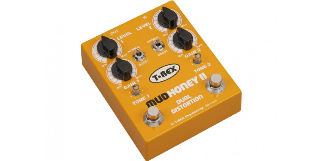 T Rex Mudhoney-II Distortion Pedal with Boost