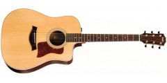 Taylor 210CE Dreadnought Electric Acoustic Guitar with Rigid Soft Case