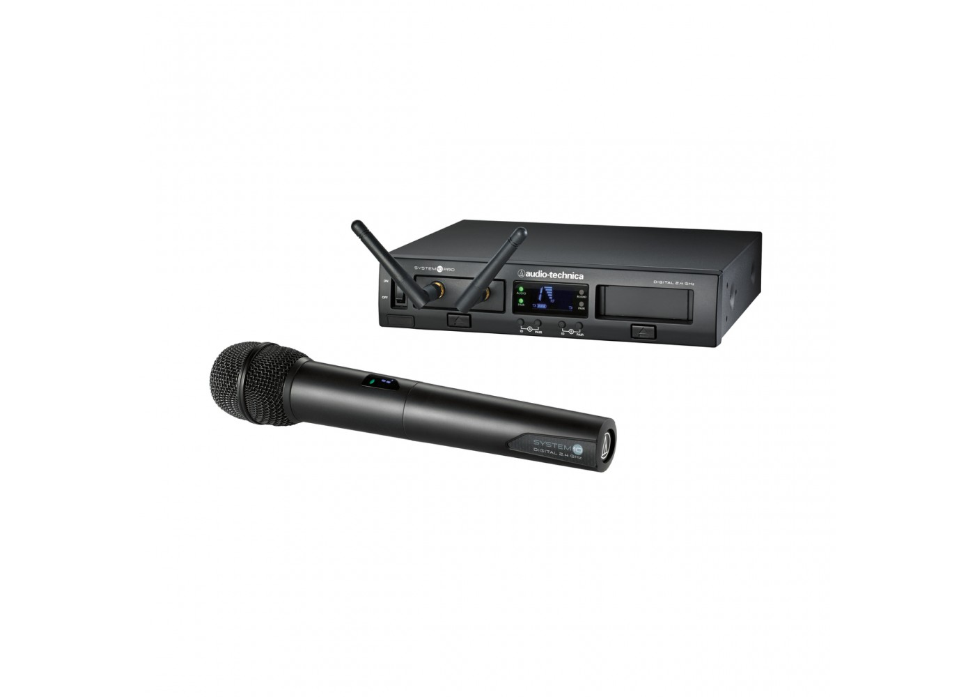 audio technica system 10 digital wireless handheld microphone system. Black Bedroom Furniture Sets. Home Design Ideas