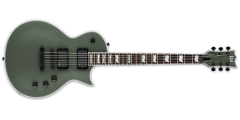 ESP Ltd EC401 Electric Guitar with EMG 81/60 Pickups Military Green Satin