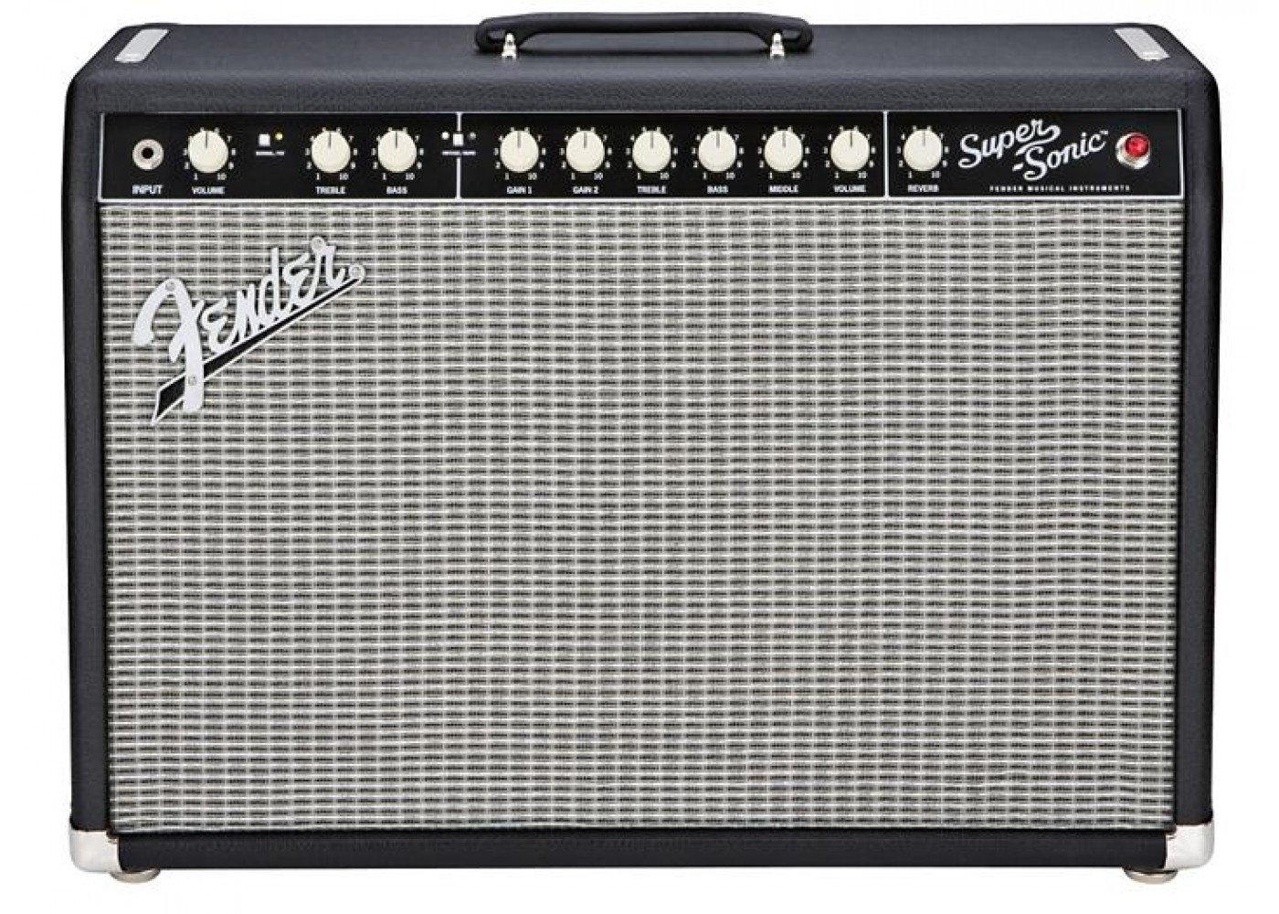 fender super sonic 22 all tube electric guitar amp 22 watts. Black Bedroom Furniture Sets. Home Design Ideas