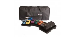 Mega Bone Pedal Board - w/ Carry Bag and Power Supply