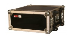 4U Standard Audio Road Rack Case w/ Wheels
