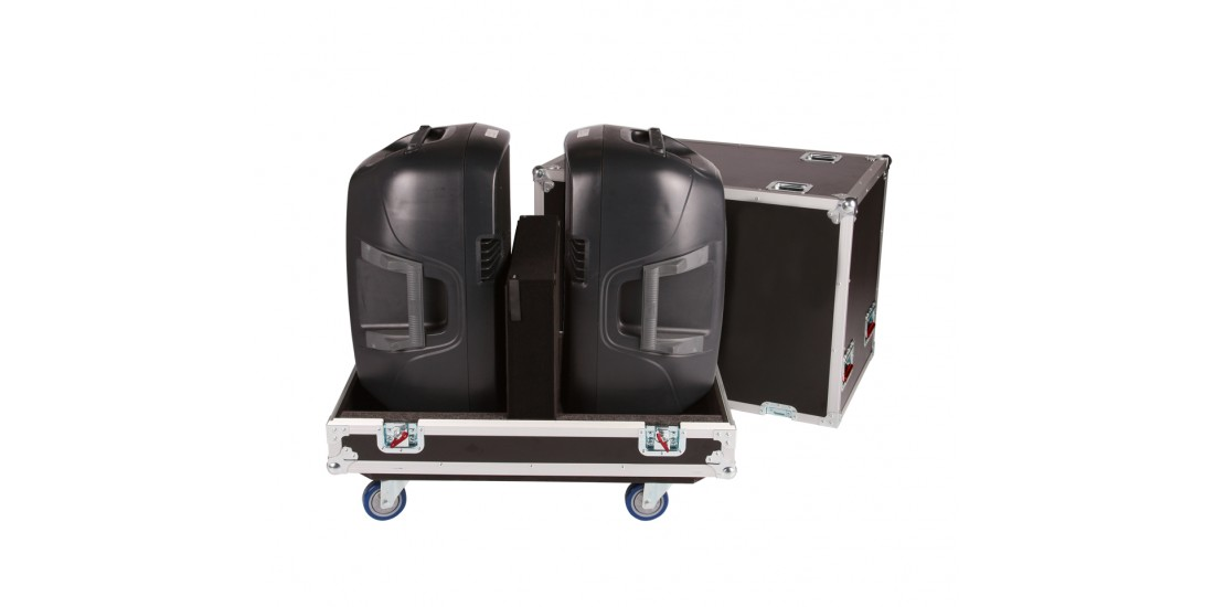 Tour Style Transporter for (2) 15 speakers