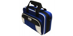 Lightweight Clarinet Case White and Blue