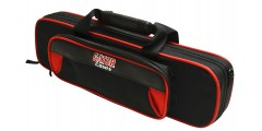 Lightweight Flute Case Red and Black