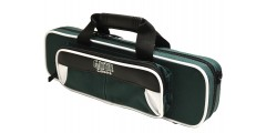 Lightweight Flute Case White and Green
