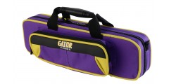 Lightweight Flute Case Yellow and Purple