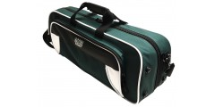 Lightweight Trumpet Case White and Green