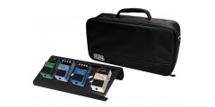 Black Aluminum Pedal Board - Small w/ Carry Bag