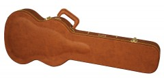 Gibson SG Guitar Deluxe Wood Case Brown