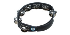 Lp Latin Percussion Cyclops Tambourine Double Row Double Jingle Black