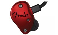 Fender FXA6 Pro In Ear Monitor Ear Buds Red