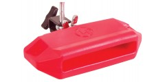 LP Latin Percussion Jam Block Low With Mounting Bracket Red