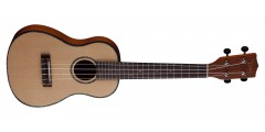 Dean Travel Soprano Ukulele Satin Finish Spruce To..
