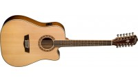 Washburn WD10SCE12 Acoustic Electric 12 String Guitar