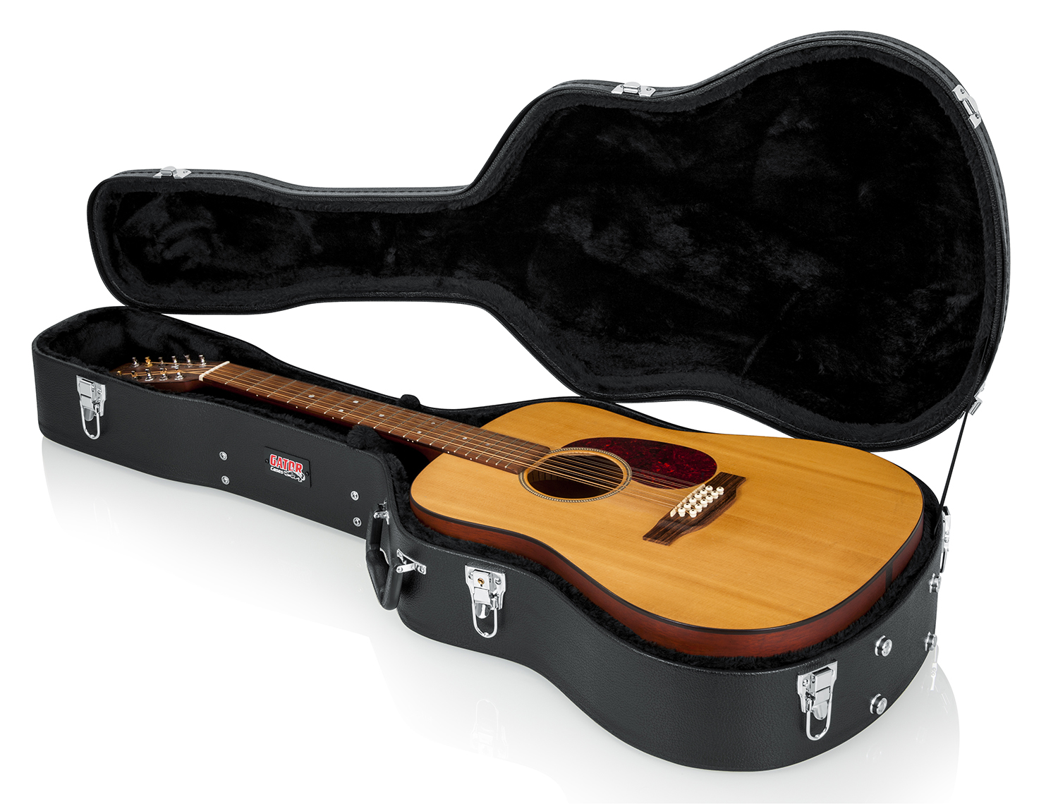 gator gwe series hardshell arched top universal acoustic guitar case ebay